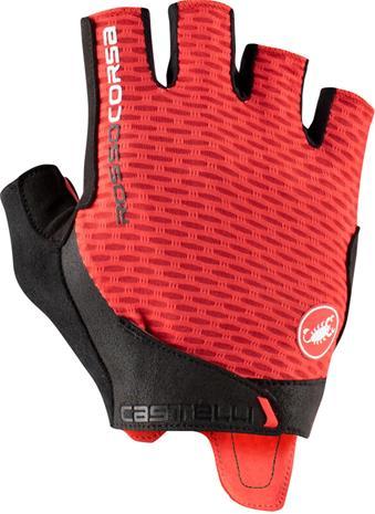 Castelli Rosso Corsa Pro V Gloves, punainen