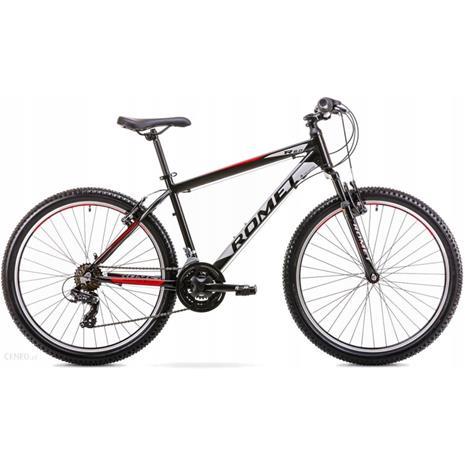"""Romet Rambler R6.0 LTD maastopyörä musta-punainen-harmaa, runko 17"""""""