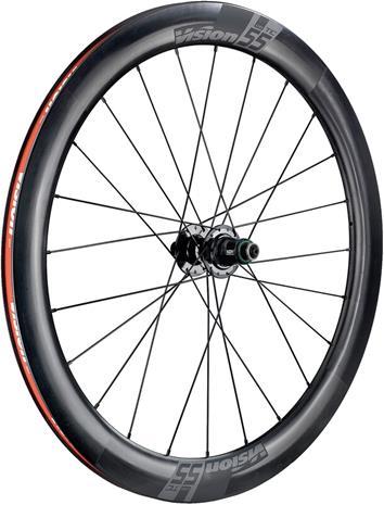 """FSA Vision TC 55 Disc Wheel Set 28"""""""" CL Clincher TLR SRAM XDR, musta, Polkupyörien varaosat"""