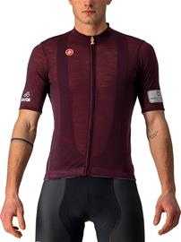 Castelli Giro d'Italia Montalcino SS Jersey Men, rosso montalcino