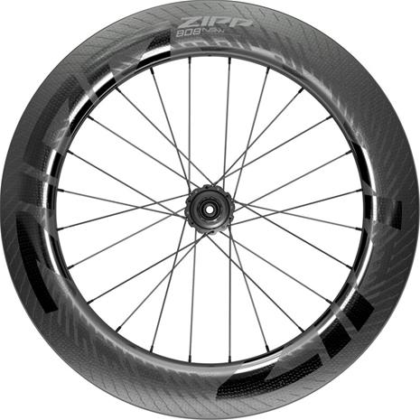 "Zipp 808 NSW Disc Rear Wheel 28"""" 12x142mm CL SRAM XDR TLR Carbon, musta, Polkupyörien varaosat"