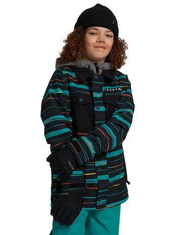 Burton Uproar Jacket true black scribble Jätkät