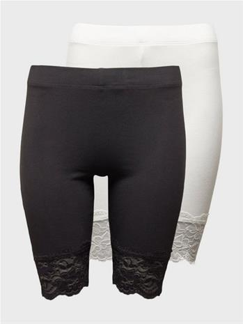 Gina Tricot 2-pack basic biker lace