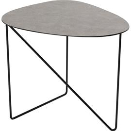 Lind DNA Lind DNA-Curve Table 44x50x45 cm, Hippo Anthracite / Black