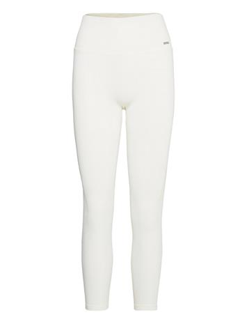 AIM'N Off-White Luxe Seamless Tights Running/training Tights Valkoinen AIM'N OFF-WHITE