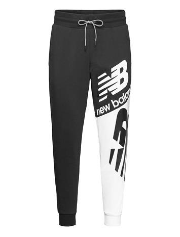 New Balance Nb Athletics Splice Pant Collegehousut Olohousut Musta New Balance BLACK MULTI