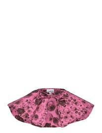 Ganni Printed Cotton Poplin Accessories Collars Vaaleanpunainen Ganni SHOCKING PINK