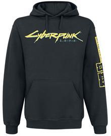 Cyberpunk 2077 - Logo - Huppari - Miehet - Musta