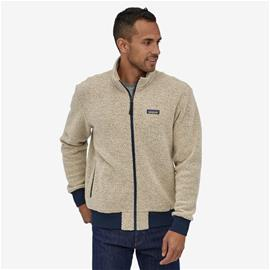 Miesten Patagonia Woolyester Fleece Jacket – Fleecetakki, Oatmeal Heather / S
