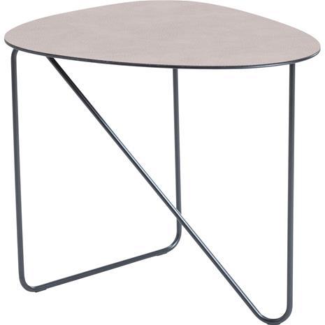 Lind DNA Curve Table 37x44x40 cm, Hippo Warm Grey / Black