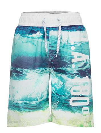 Lindex Swimshorts Bb Wave Uimashortsit Sininen Lindex BLUE
