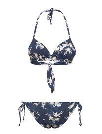 Roxy Value Line Mold Tri Set Bikinit Sininen Roxy MOOD INDIGO S AQUA DITSY