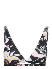 Roxy Pt Beach Classics Elongate Tri Bikiniyläosa Bikiniliivit Musta Roxy ANTHRACITE PRASLIN S
