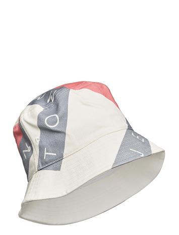 Tommy Hilfiger Tjw Heritage Flag Bucket Accessories Headwear Bucket Hats Valkoinen Tommy Hilfiger WHITE