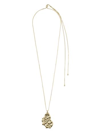 Pilgrim Necklace Compassion Gold Plated Accessories Jewellery Necklaces Dainty Necklaces Kulta Pilgrim GOLD PLATED