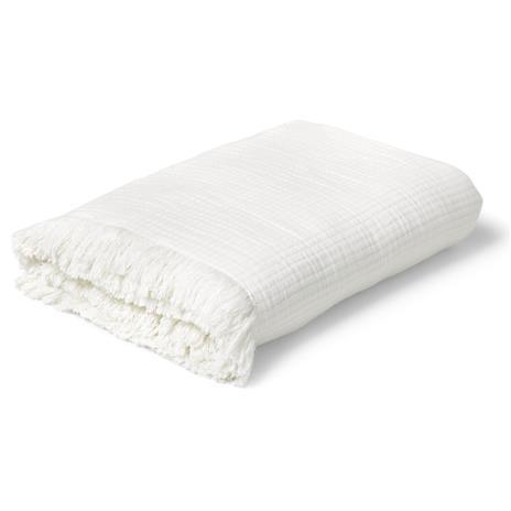 Juna View Bedspread 240x260cm, White