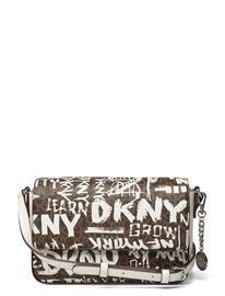 DKNY Bags Handbag Bags Small Shoulder Bags - Crossbody Bags Ruskea DKNY Bags UDI - MCH/WHT/WHT