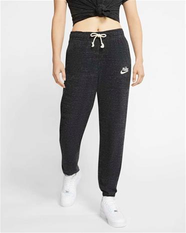 Nike naisten collegehousut NSW GYM VNTG JSY MR, tummanharmaa XL