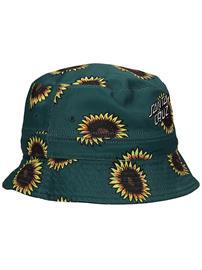 Santa Cruz Sunflowers Bucket Hat black / sunflower print