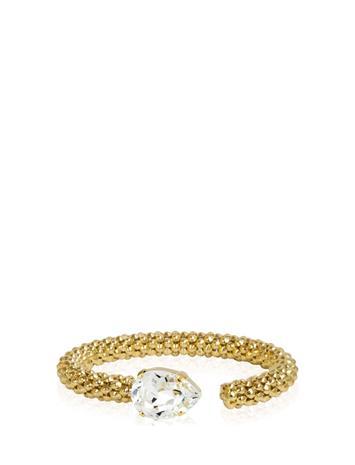 Caroline Svedbom Classic Rope Bracelet Gold Accessories Jewellery Bracelets Bangles Kulta Caroline Svedbom CRYSTAL