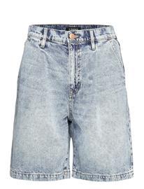 Lindex Shorts Denim Ella Lt Blue Shorts Denim Shorts Sininen Lindex BLUE