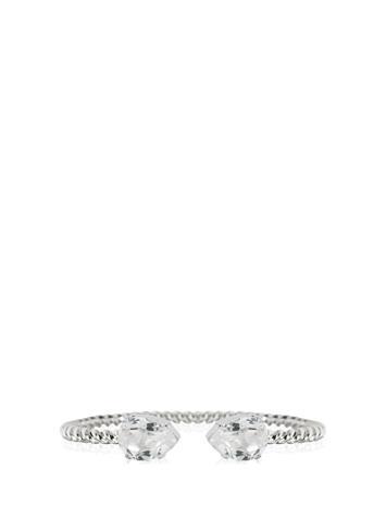 Caroline Svedbom Mini Drop Bracelet Rhodium Accessories Jewellery Bracelets Bangles Hopea Caroline Svedbom CRYSTAL