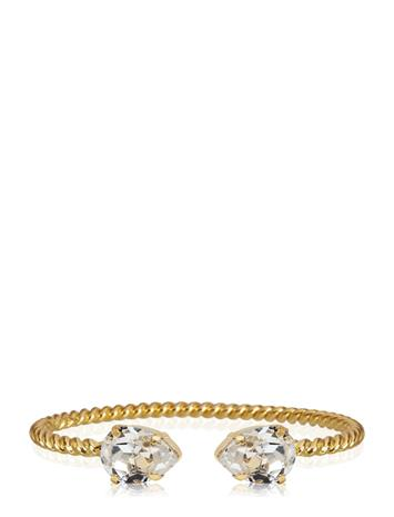 Caroline Svedbom Mini Drop Bracelet Gold Accessories Jewellery Bracelets Bangles Kulta Caroline Svedbom CRYSTAL