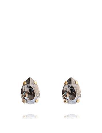 Caroline Svedbom Petite Drop Stud Earring Gold Accessories Jewellery Earrings Studs Kulta Caroline Svedbom BLACK DIAMOND