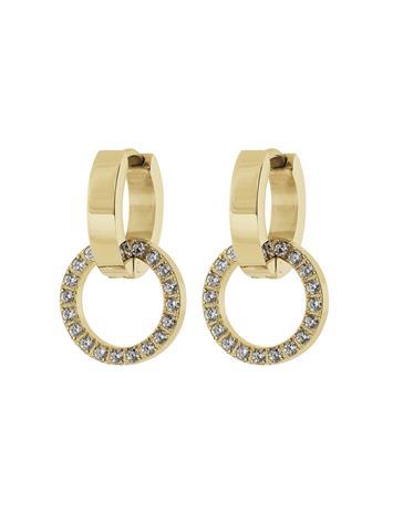 Edblad Eternal Orbit Earrings Gold Accessories Jewellery Earrings Hoops Kulta Edblad GOLD