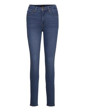 Lee Jeans Scarlett High Skinny Farkut Sininen Lee Jeans MID MADISON