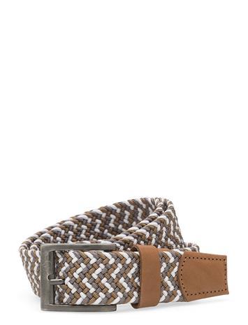 Van Gils Clothing Reeve Accessories Belts Braided Belt Ruskea Van Gils Clothing BROWN