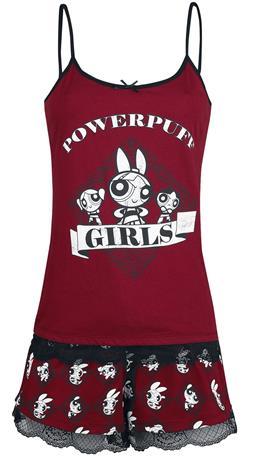 The Powerpuff Girls - Powerpuff Girls - Pyjama - Naiset - Monivärinen