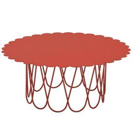 Vitra Flower pöytä, iso, punainen