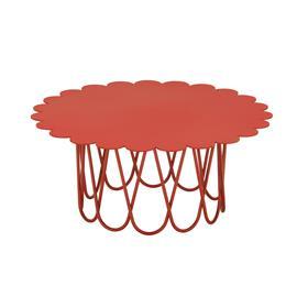 Vitra Flower pöytä, pieni, punainen