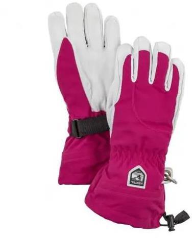 Hestra Heli Ski Female Gloves Fuchsia 8