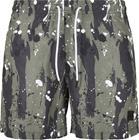 Urban Classics - White Dot Camo AOP Swim Shorts - Uimashortsit - Miehet - Camo