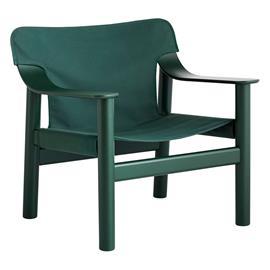 HAY Bernard nojatuoli, vihreä pyökki - vihreä canvas