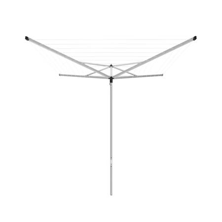 Brabantia Essential Split Pole 40 m -pyykinkuivausteline muovisella maatuella