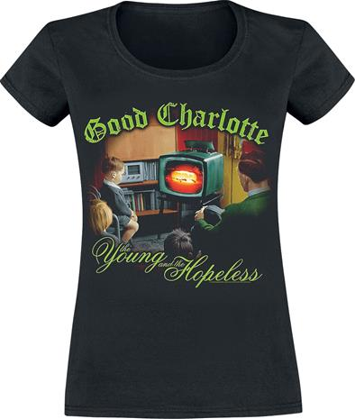 Good Charlotte - Young & Hopeless - T-paita - Naiset - Musta