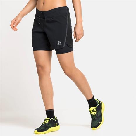 """Odlo Axalp Trail W Shorts 6"""" Musta XS"""