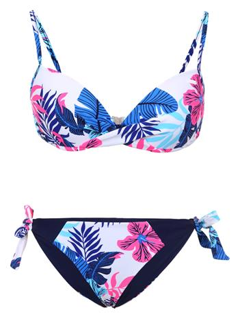Icepeak naisten bikinisetti IBIRITE,sininen-fuksia XL (B-kuppi)