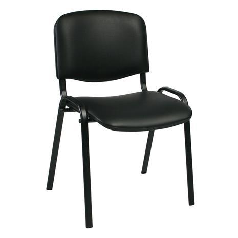 Asiakastuoli ISO I, musta