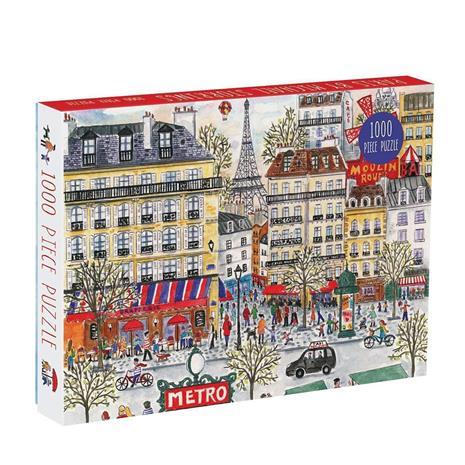 Mudpuppy - Puzzle 1000 pcs - Michael Storrings Paris (048943)