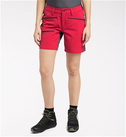 Haglöfs Rugged Flex Shorts Women - Naiset - 38 - Scarlet Red/Magnetite