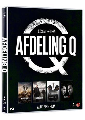 Jussi Adler-Olsen: Avdelning Q Box (Blu-Ray), elokuva