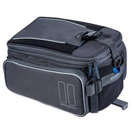Basil Bicycle Bag Sport Design Trunk Bag 7/12L Harmaa