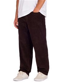 Empyre Loose Fit Sk8 Cord Pants dark brown Miehet