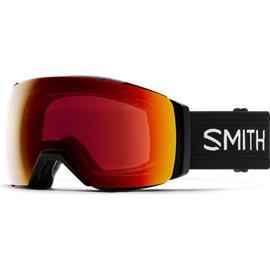 Smith I/O Mag XL, Black w/ ChromaPop Sun Red Mirror + Storm Yellow Flash