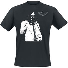 Neil Young - Tonight's The Night - T-paita - Miehet - Musta