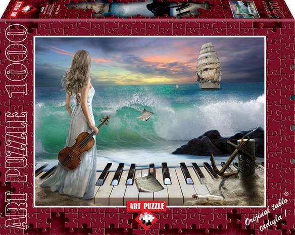 Palapeli: Sea Symphony (1000) LAUTA